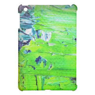 Abstract Paint Green Colour Nature iPad Mini Covers