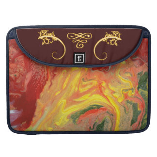 Abstract - Paint - In a state of flux MacBook Pro Sleeve