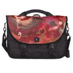 Abstract - Paint - Love Laptop Messenger Bag