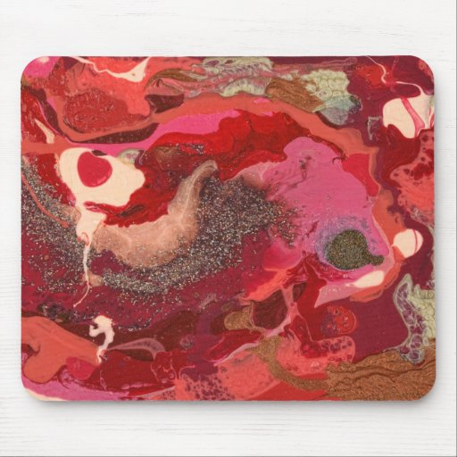 Abstract - Paint - Love Mouse Pad