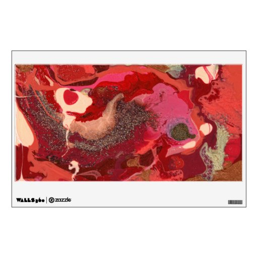 Abstract - Paint - Love Wall Stickers
