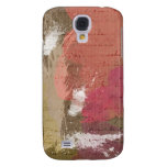 Abstract Paint Splats in Autumn Colors Galaxy S4 Cover