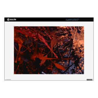 Abstract Paint Splatter Art Laptop Decals