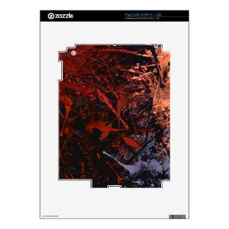 Abstract Paint Splatter Art Skin For iPad 2