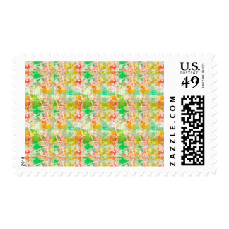 Abstract Paint Splatters 1 Stamps