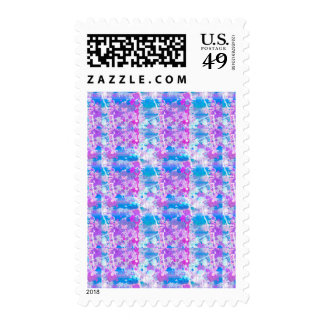 Abstract Paint Splatters 4 Stamps