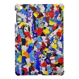 Abstract Paint Splatters iPad Mini Cover