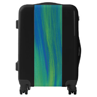 Abstract Paint Streaked Luggage