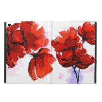 Abstract Painted Floral Background 2 Case For iPad Air
