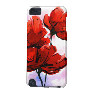 Abstract painted floral background 2 iPod touch (5th generation) cover