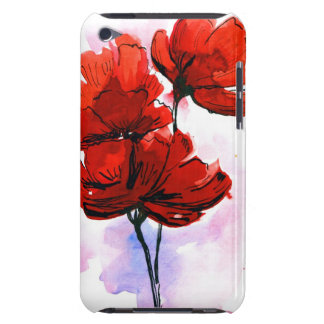 Abstract painted floral background 2 iPod touch Case-Mate case