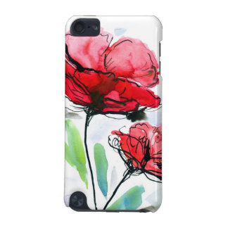 Abstract painted floral background iPod touch 5G cover