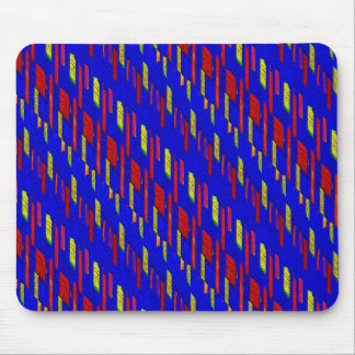 Abstract Painted Pattern Mouse Pad