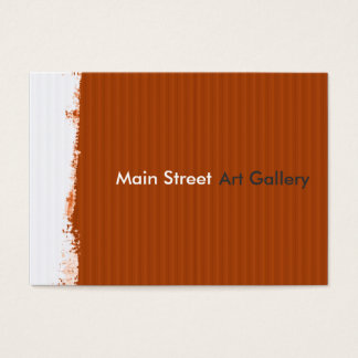 Abstract Painted Wall Painterly Business Card