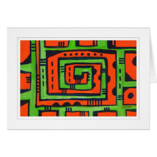 Abstract Painting 01 Card