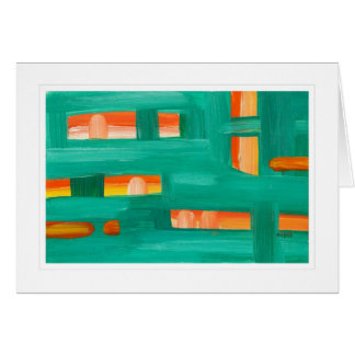 Abstract Painting 02 Card