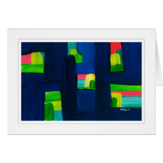 Abstract Painting 03 Card