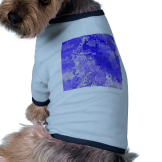 Abstract Painting 04 blue Doggie Shirt