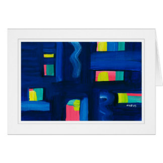 Abstract Painting 04 Card