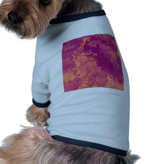 Abstract Painting 04 peach Doggie Tshirt