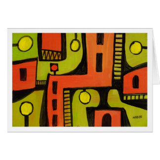 Abstract Painting 05 Card