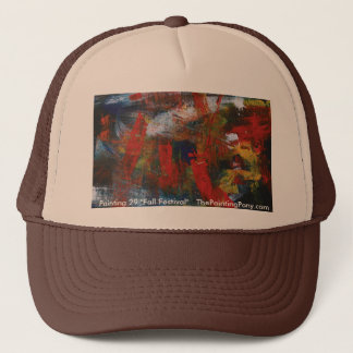 Abstract Painting 29 Fall Festival Trucker Hat