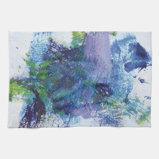 Abstract Painting 2 Pegasus Hand Towel