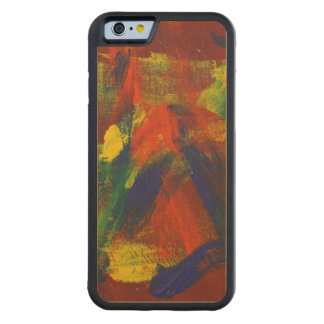 Abstract Painting 31 Jubilee Carved® Maple iPhone 6 Bumper