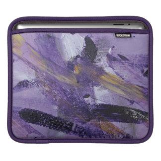 Abstract Painting 41 Purple Madness iPad Sleeve