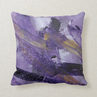 Abstract Painting 41 Purple Madness Pillows