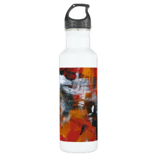 Abstract Painting 57 Shaken Up Stainless Steel Water Bottle