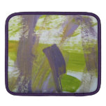 Abstract Painting 58 Iris iPad Sleeve