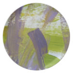 Abstract Painting 58 Iris Plates