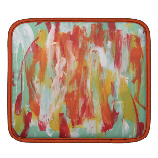 Abstract Painting 64 Sun Shower Sleeve For iPads