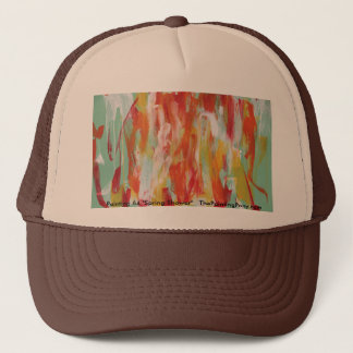Abstract Painting 64 Sun Shower Trucker Hat