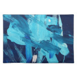Abstract Painting 68 Ocean Tide Cloth Placemat