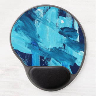 Abstract Painting 68 Ocean Tide Gel Mouse Pad
