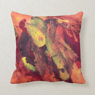 Abstract Painting 68 Ocean Tide Throw Pillow
