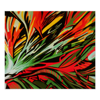 Abstract Painting #9 Poster