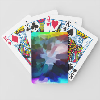 Abstract Painting | Abstract Art 10 Bicycle Playing Cards