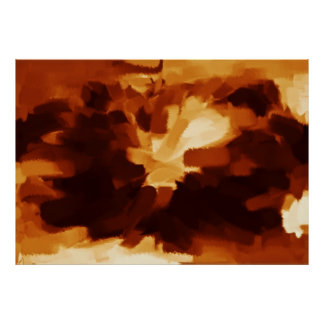 Abstract Painting | Abstract Art 11 Poster