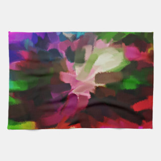 Abstract Painting | Abstract Art 17 Towel
