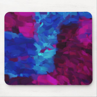 Abstract Painting   Abstract Art Mouse Pad
