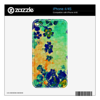 Abstract Painting | Abstract Art Skin For The iPhone 4