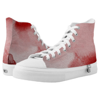 abstract painting background High-Top sneakers