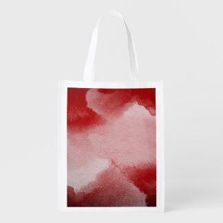 abstract painting background reusable grocery bag