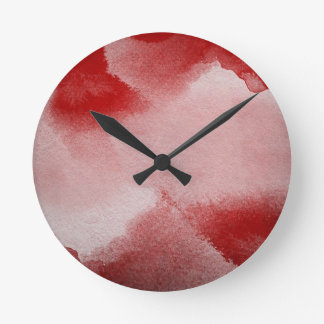 abstract painting background round clock