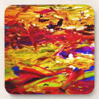 Abstract Painting Beverage Coaster