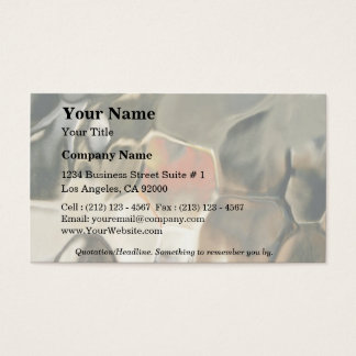 Abstract painting business card