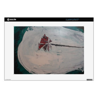 """Abstract painting by s b Eazle 15"""" Laptop Decals"""
